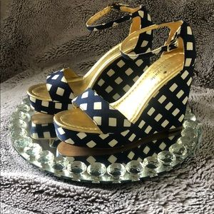 Kate spade wedge shoes